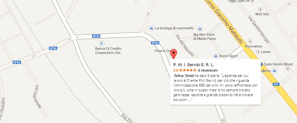 google maps per il business